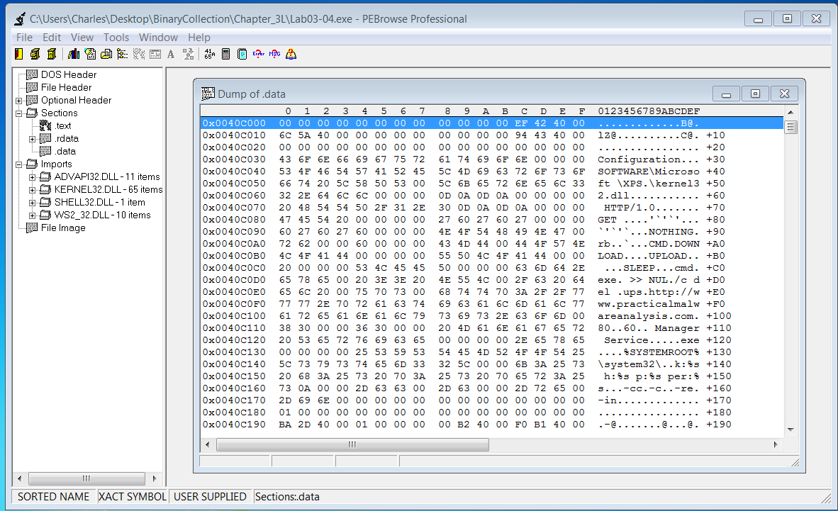 how to tell if a program is malware