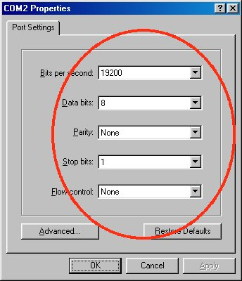 Serial Communications In Win32 Sample