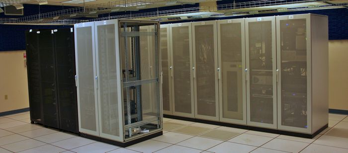 The UMBC CSEE department has large hybrid cluster with more than 128 processors as well as many other high end se