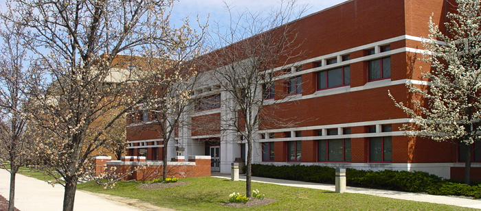 Some CSEE labs are located in the UMBC Engineering and Computer Science building