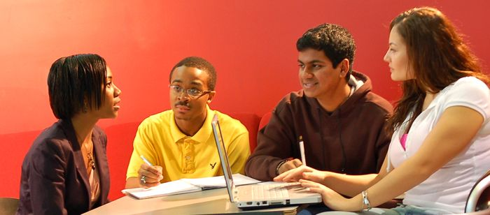 UMBC students in the Meyerhoff Scholars Program