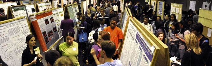 Undergraduate Research and Creative Achievement Day features research, scholarship, and creative work carried out by UMBC undergraduates