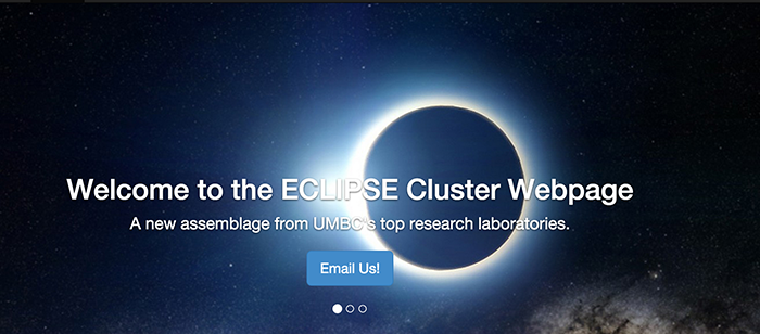 UMBC Eclipse research cluster
