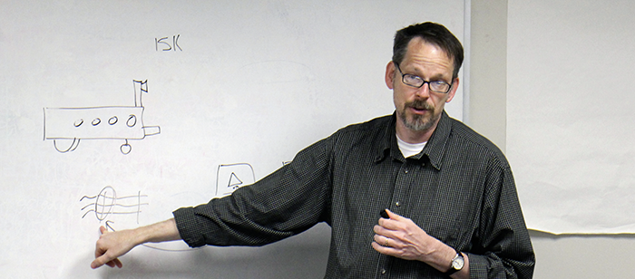 UMBC Professor Tim Oates gives a seminar on some of the fundamental ...