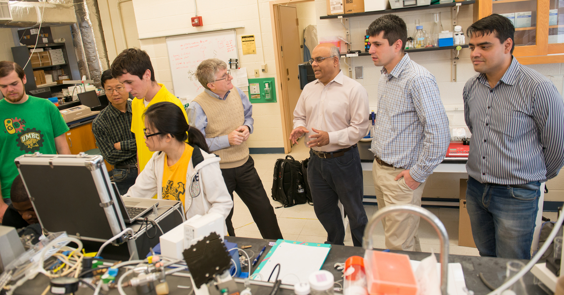 UMBC Center for Advanced Sensor Technology