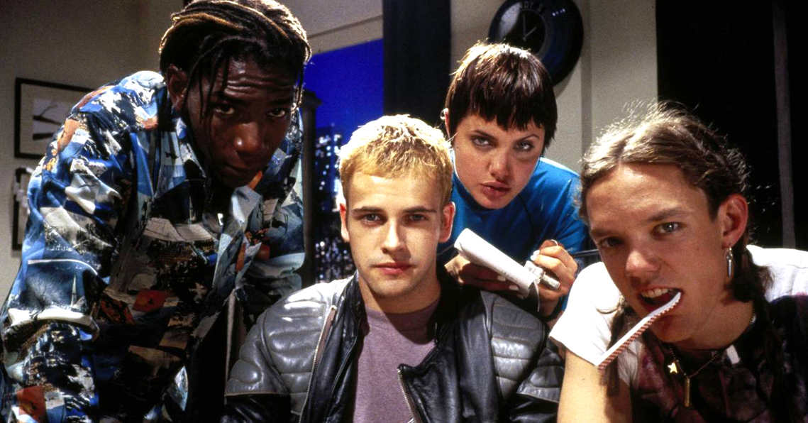 Hackers is a 1995 American film that follows a group of high school hackers and their involvement in a corporate extortion conspiracy.