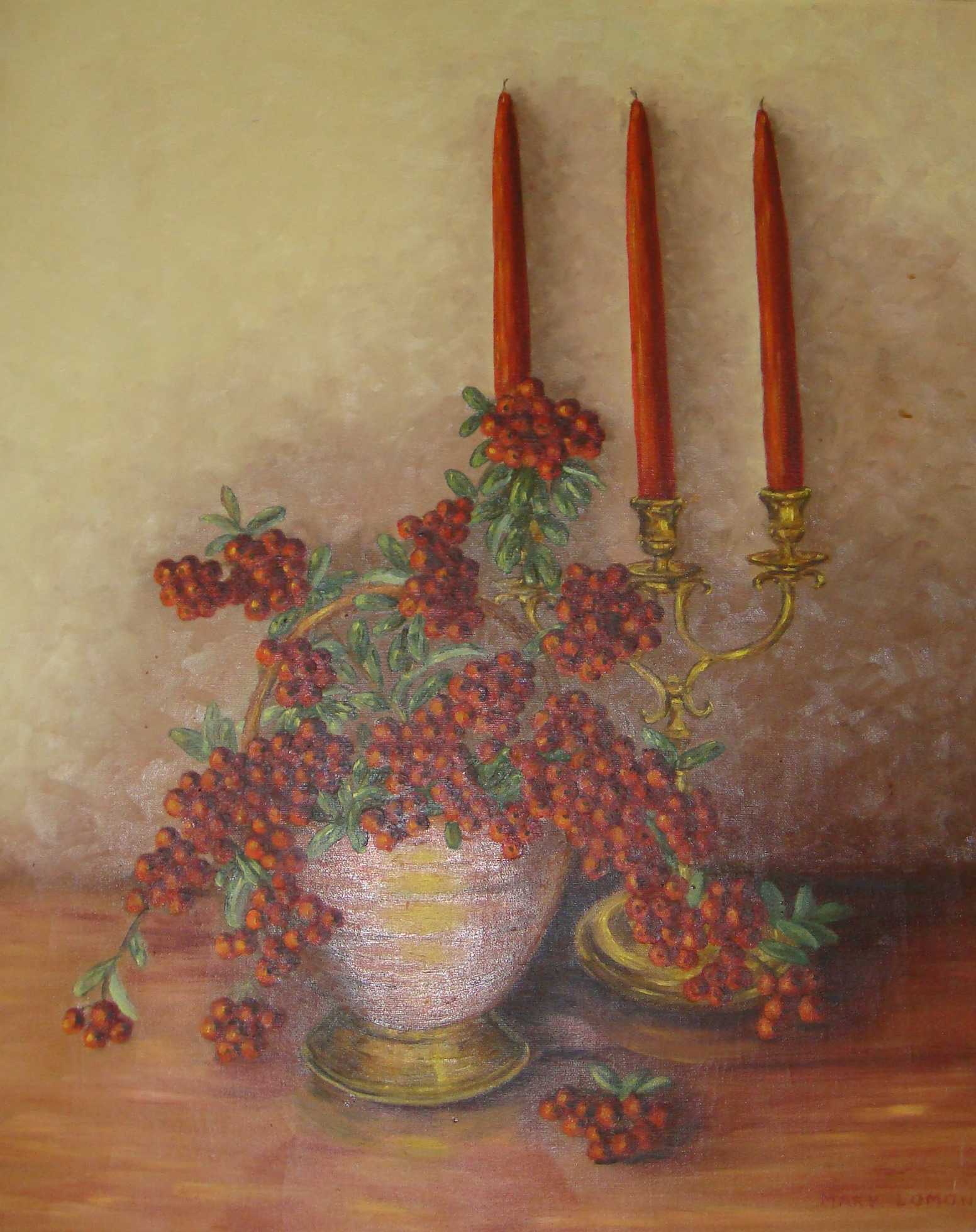 Oil painting by Mary Lomonaco